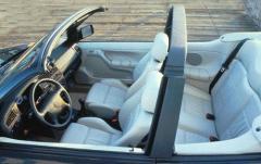 1997 Volkswagen Cabrio interior