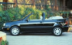 1997 Volkswagen Cabrio exterior