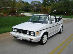 1991 Volkswagen Cabriolet Photo 1
