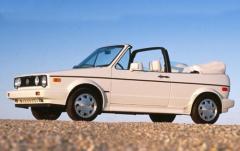 1992 Volkswagen Cabriolet exterior