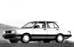 1991 Volkswagen Fox exterior