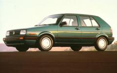 1991 Volkswagen Golf exterior