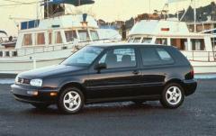 1995 Volkswagen Golf exterior