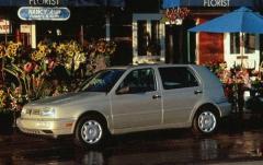 1997 Volkswagen Golf exterior