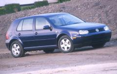 2002 Volkswagen Golf exterior