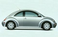 2000 Volkswagen New Beetle exterior