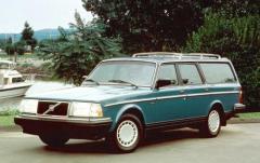 1993 Volvo 240 exterior