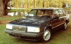 1990 Volvo 740 exterior
