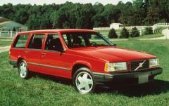 1991 Volvo 740 exterior