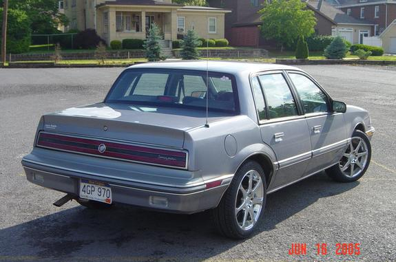 1991 Buick Skylark Sedan Specs And VIN Numbers