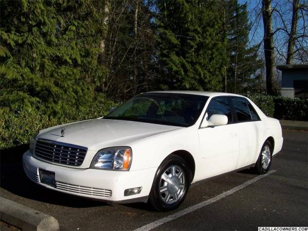 2005 Cadillac Deville Sedan VIN Number Search - AutoDetective