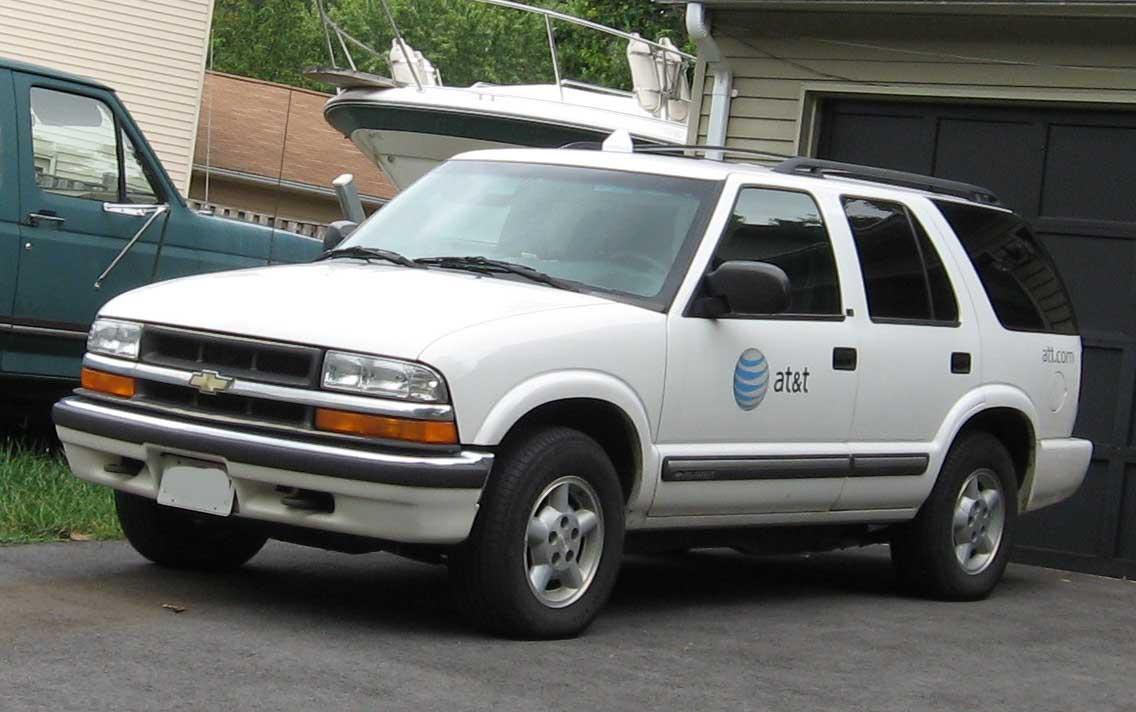 1998 Chevrolet Blazer 2 Door 2wd Photo 4