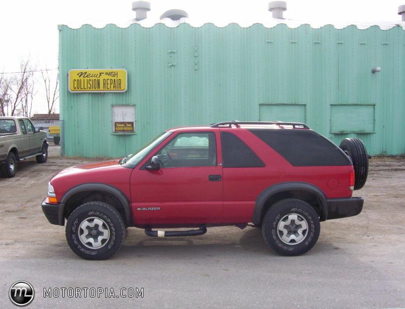 1998 Chevrolet Blazer 2 Door 2wd Photo 6
