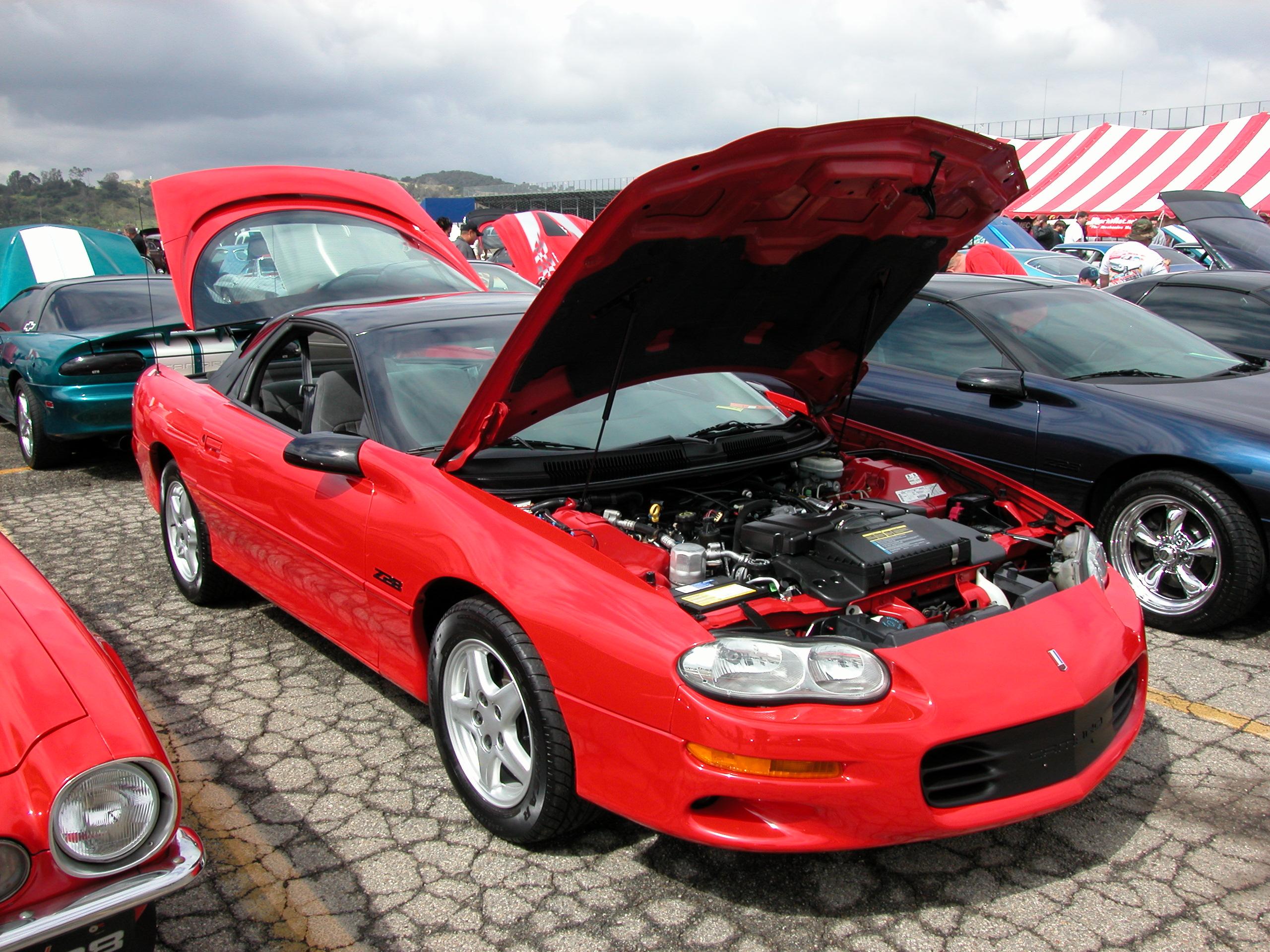 1998 Chevrolet Camaro Vin Number Search Autodetective
