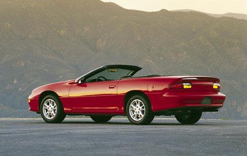2001 Chevrolet Camaro Convertible