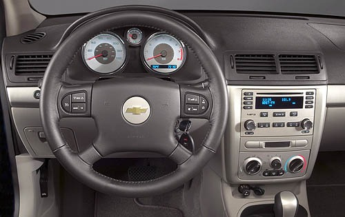 2007 Chevrolet Cobalt Ls Coupe Interior