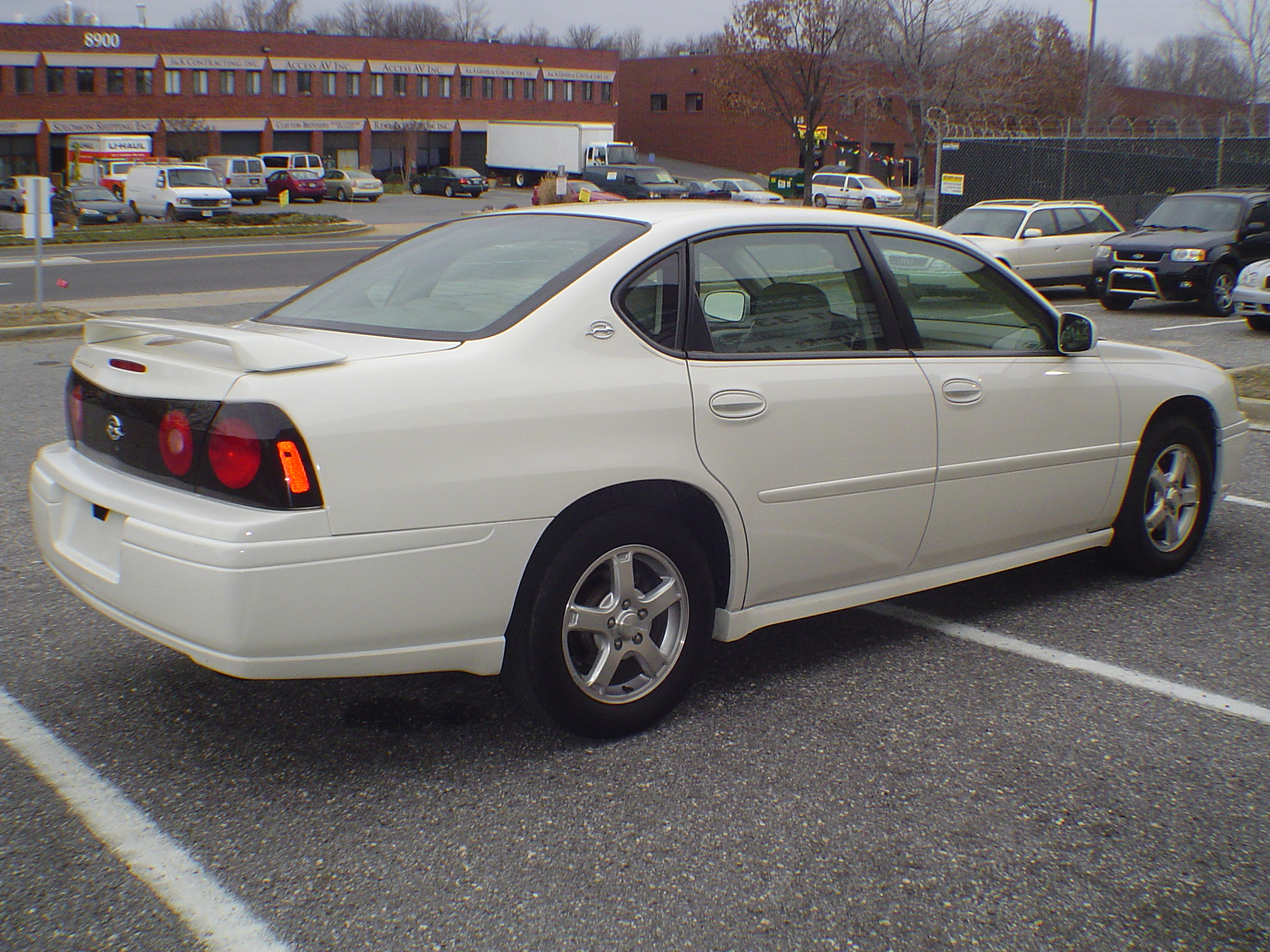 2005 Chevrolet Impala Base Vin Number Search