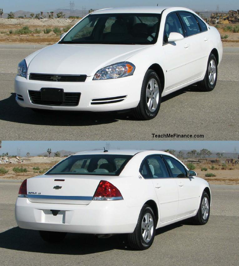 2006 Chevrolet Impala LS VIN Number Search