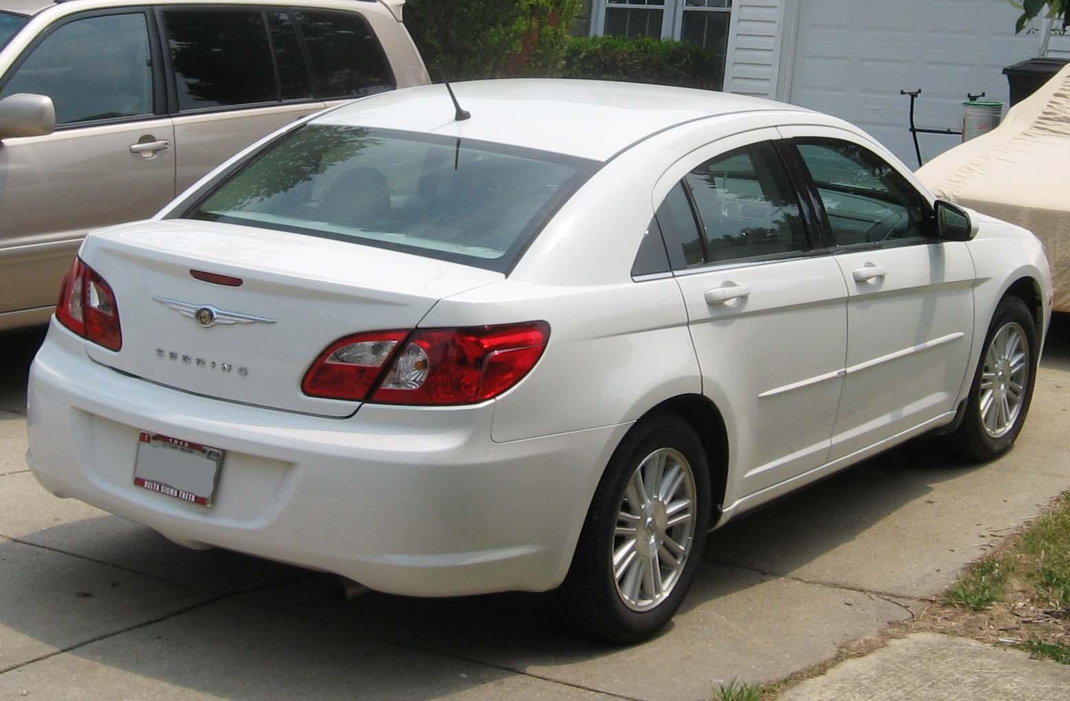 2008 Chrysler Sebring VIN Number Search - AutoDetective