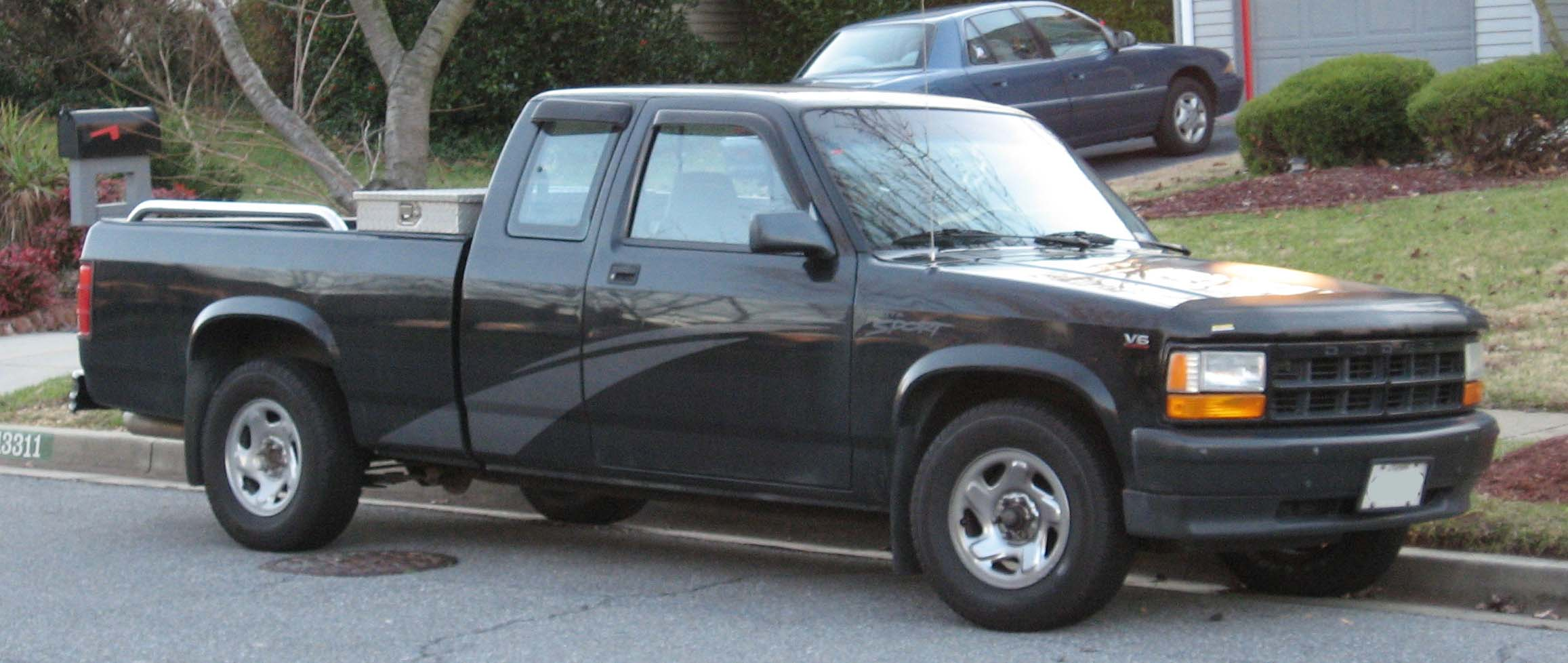 1991 Dodge Dakota Reg  Cab 6 5