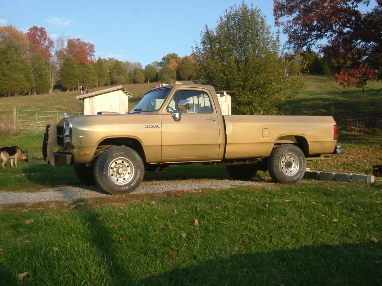 1990 dodge pickup bed
