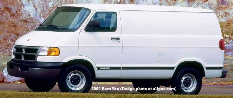 on 1997 Dodge B2500 Van