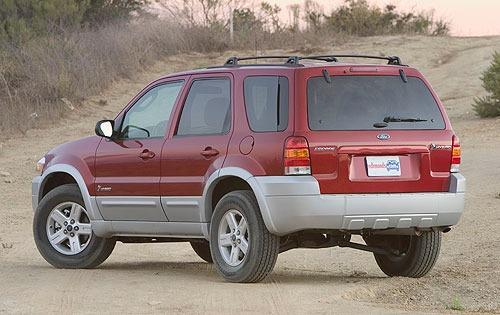 2005 ford escape hybrid manual