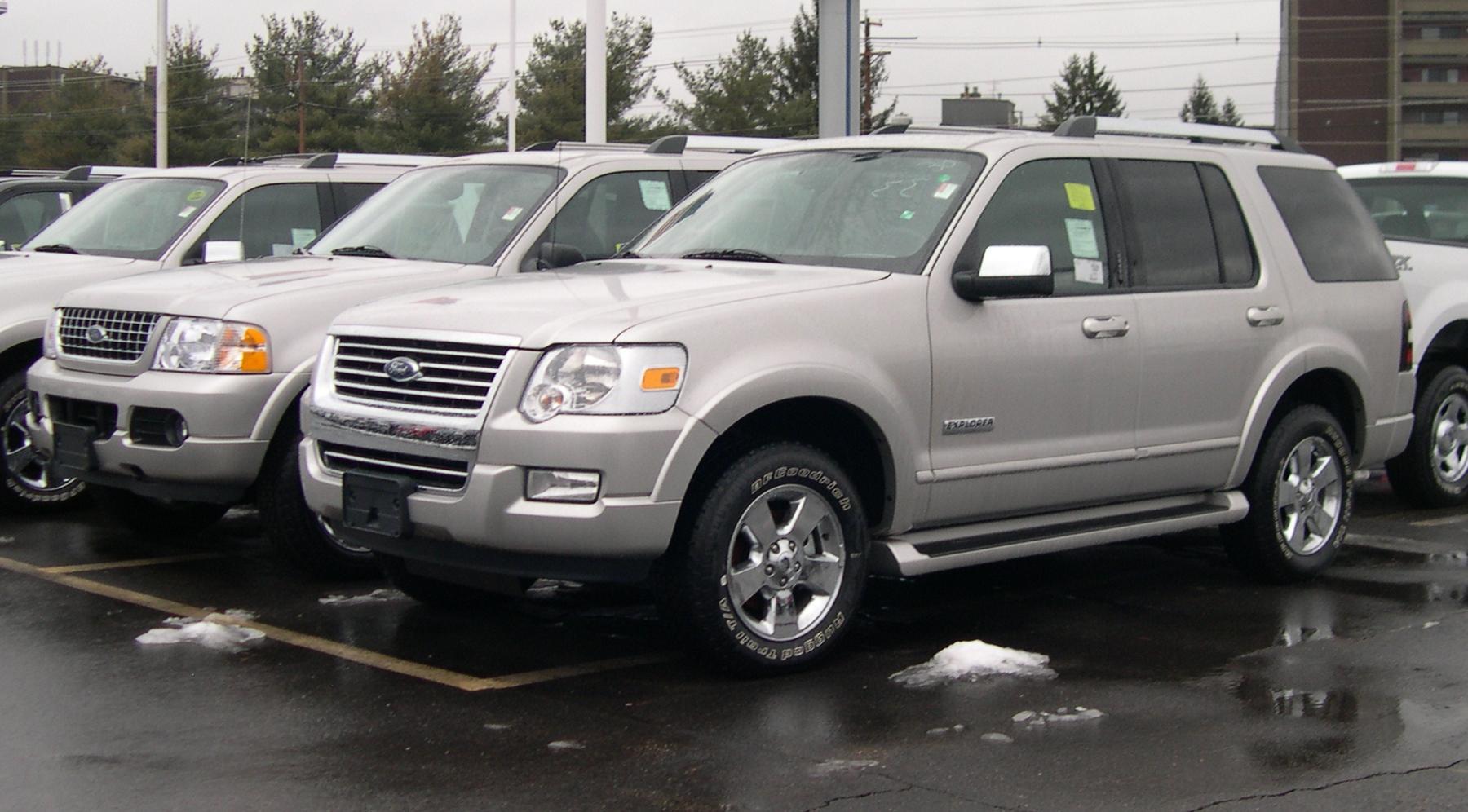 2006 Ford Explorer XLS 4 0L 2WD
