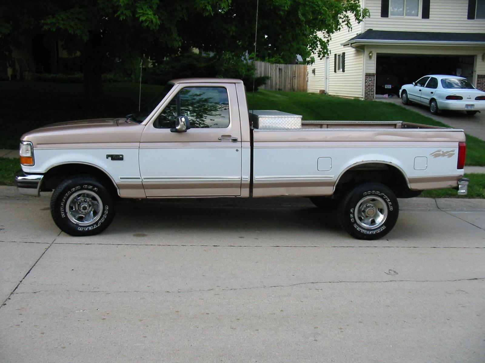 1996 ford f 150 xl specs
