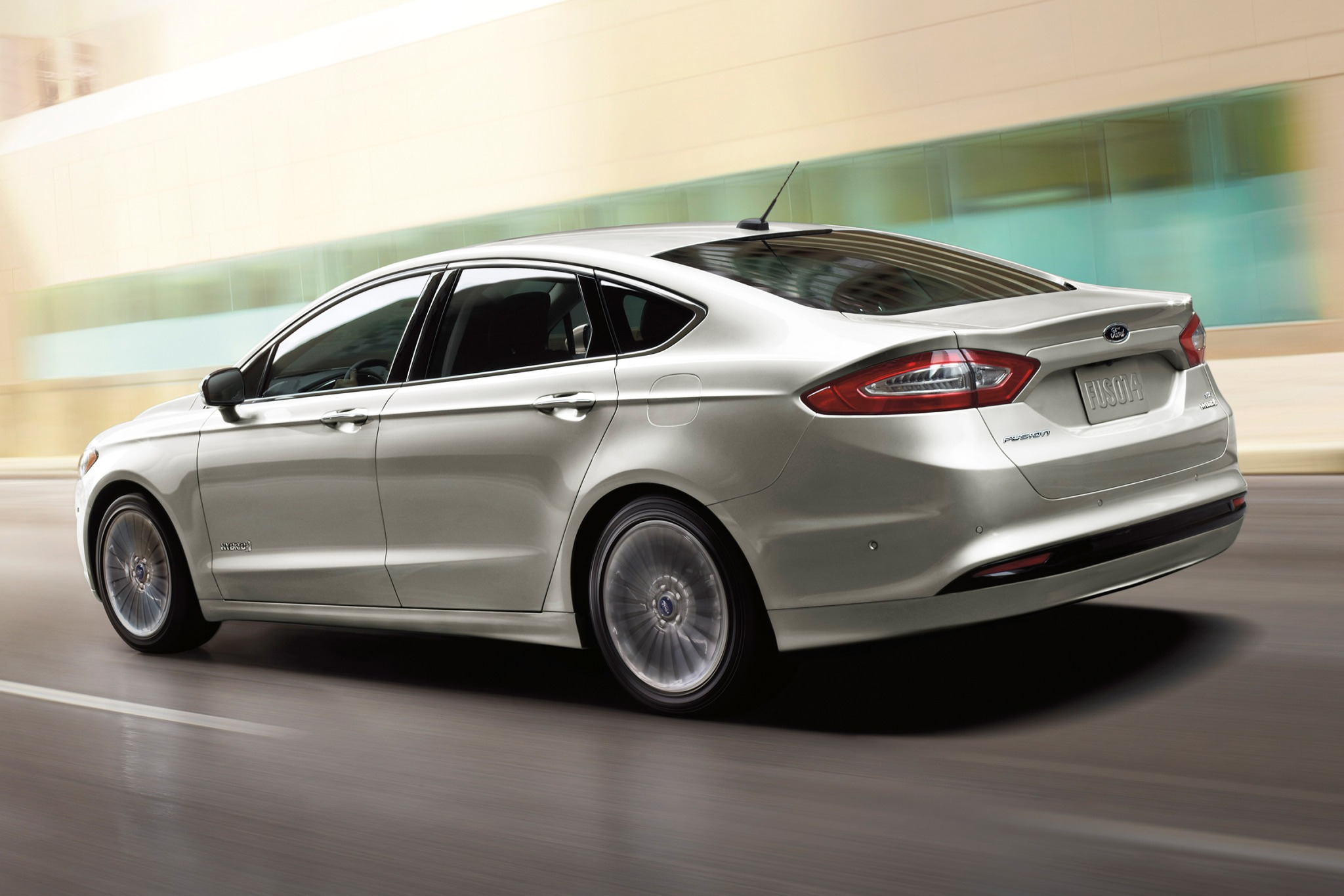 2017 Ford Fusion Hybrid Se Exterior