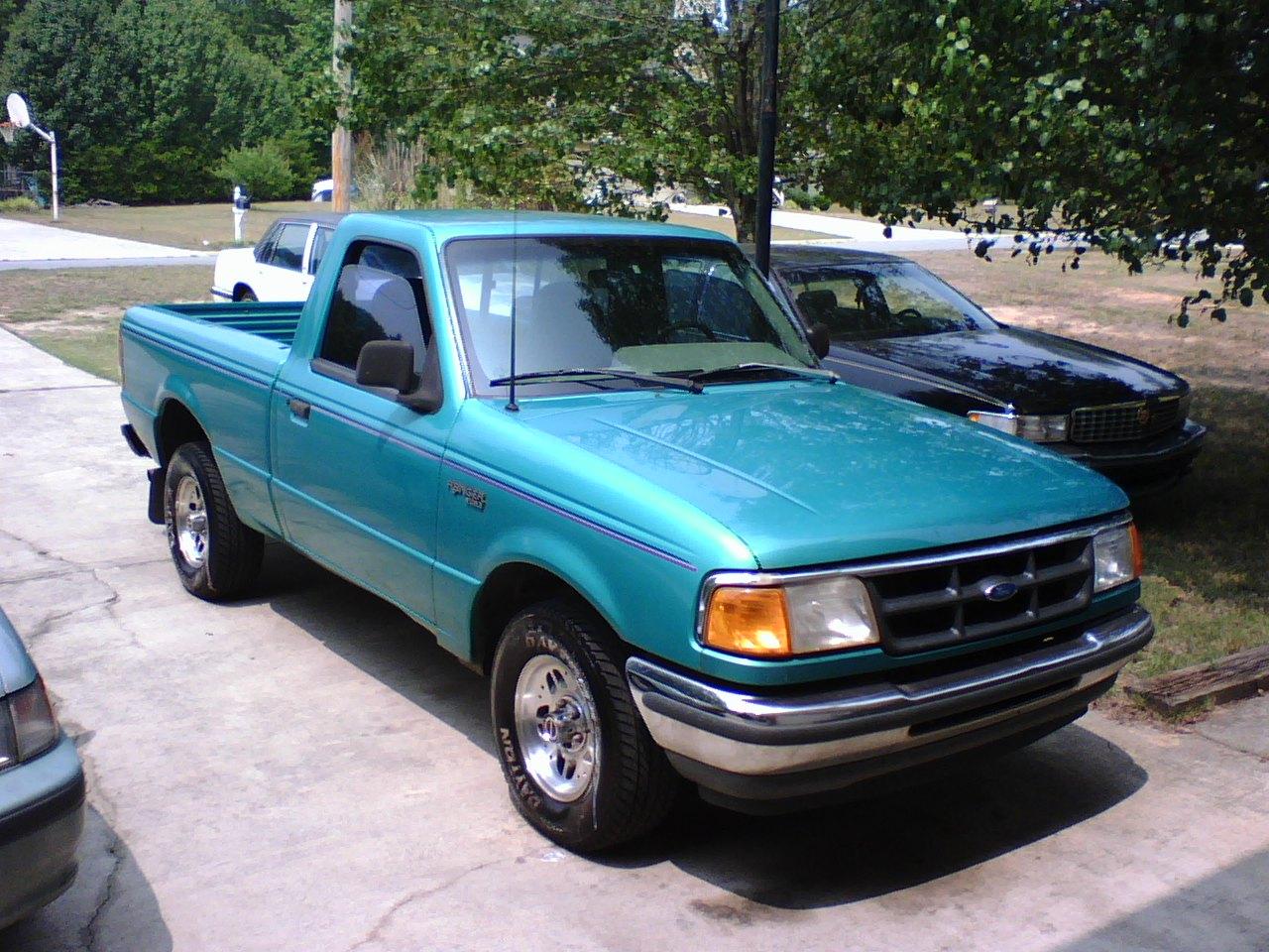 2011 Ford Ranger Xl Pickup Power Steering Fuel Capacity 195 Gal
