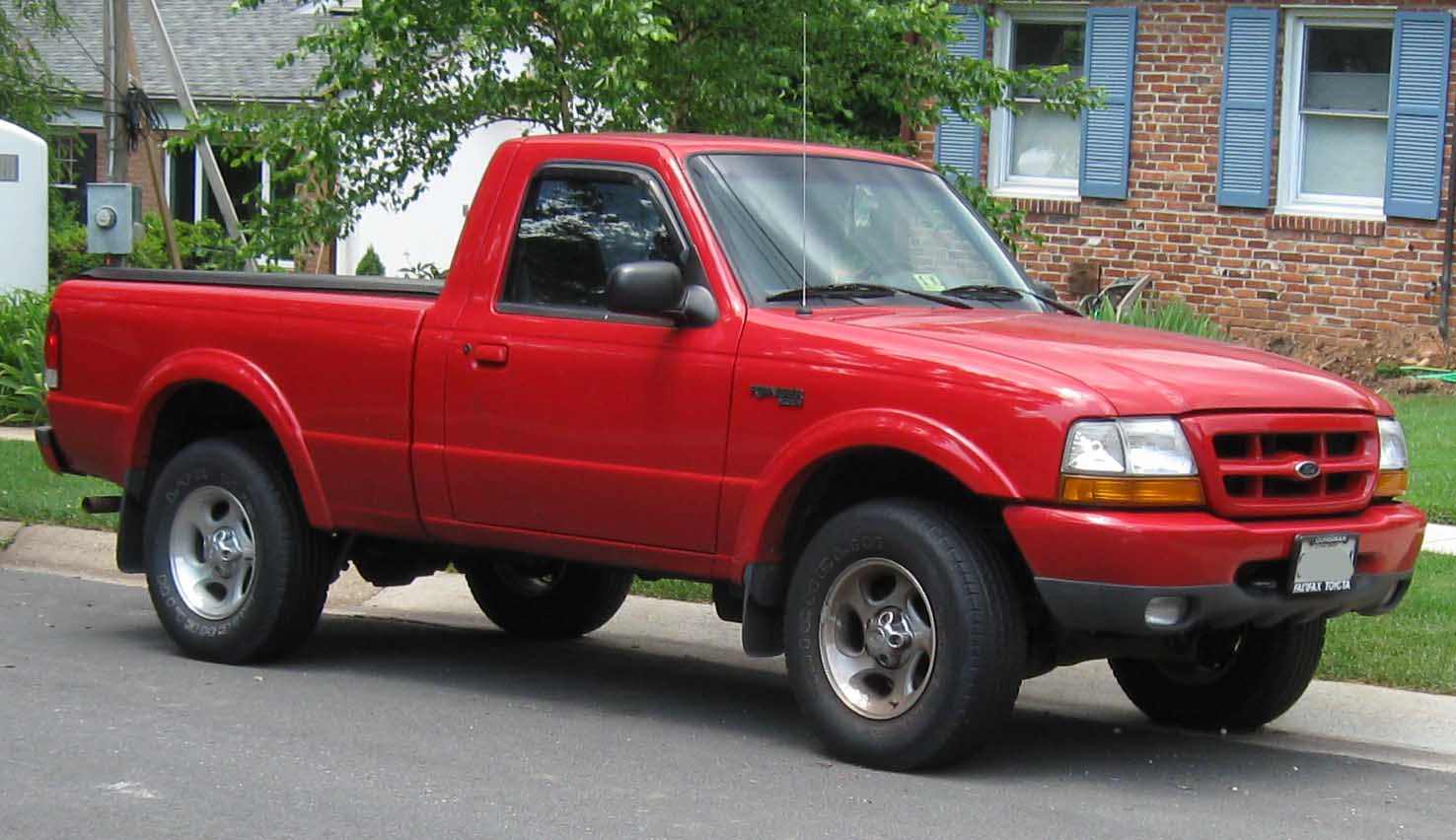 2000 ford ranger xl short bed 2wd photo 1