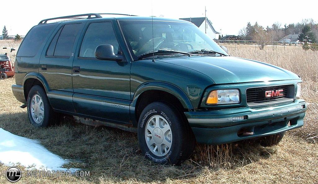 1995 gmc jimmy sl 2-door 2wd photo 5
