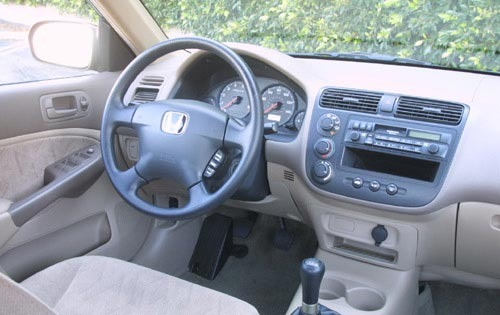 2001 Honda Civic Dx Coupe Interior