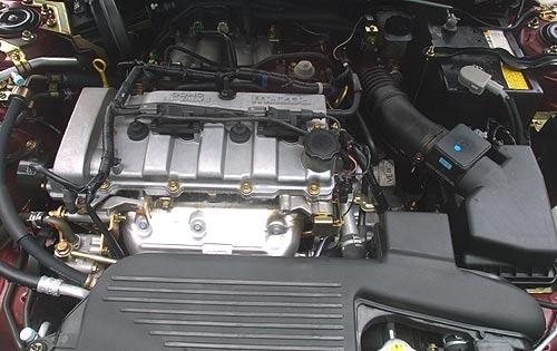 mazda protege 2003 engine