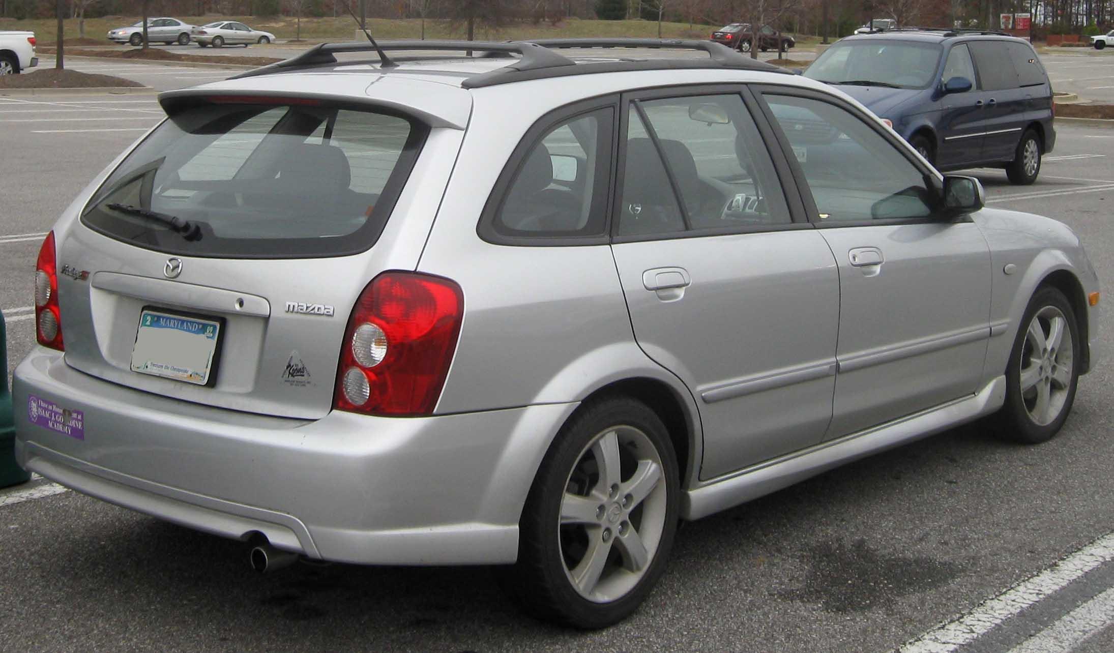 2003 mazda protege wagon