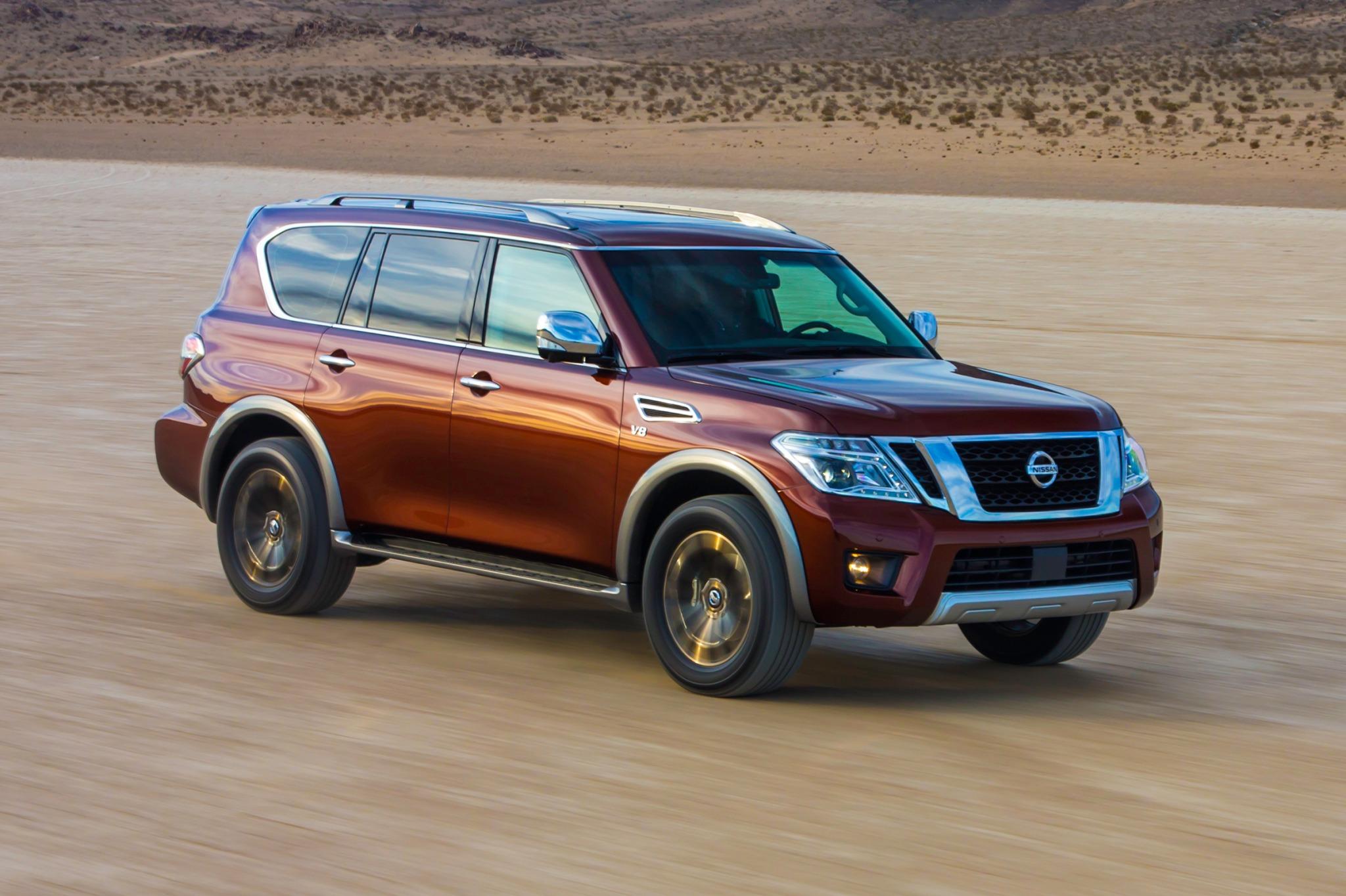 2017 Nissan Armada Configurations >> 2017 Nissan Armada VIN Check, Specs & Recalls - AutoDetective