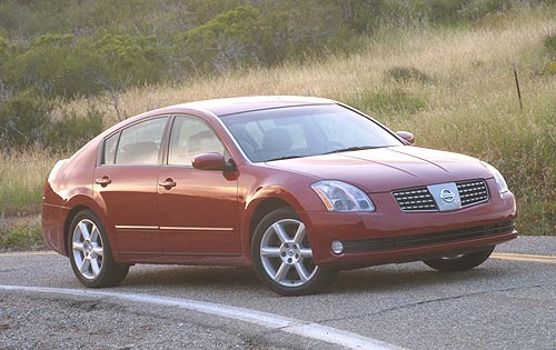 2005 Nissan Maxima SE with 6MT