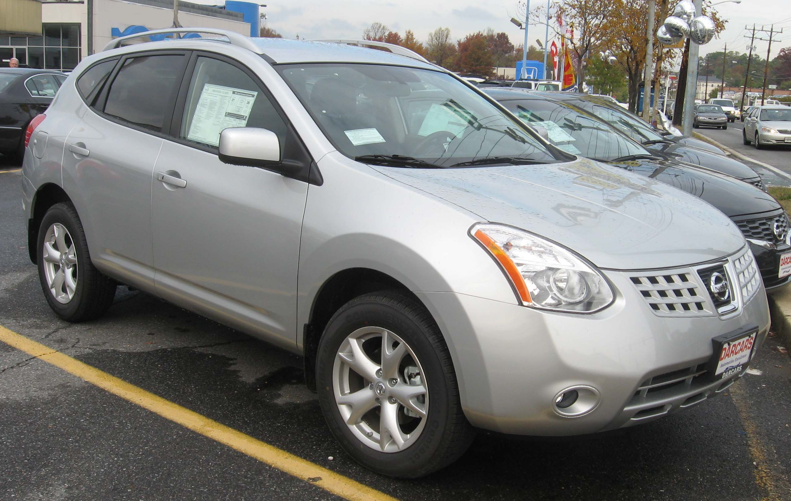 2008 Nissan Rogue Photo 4