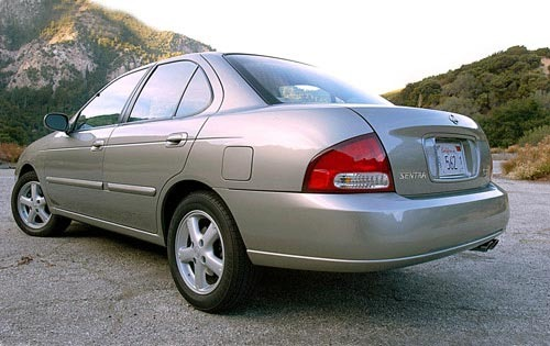 2002 Nissan Sentra XE VIN Number Search - AutoDetective