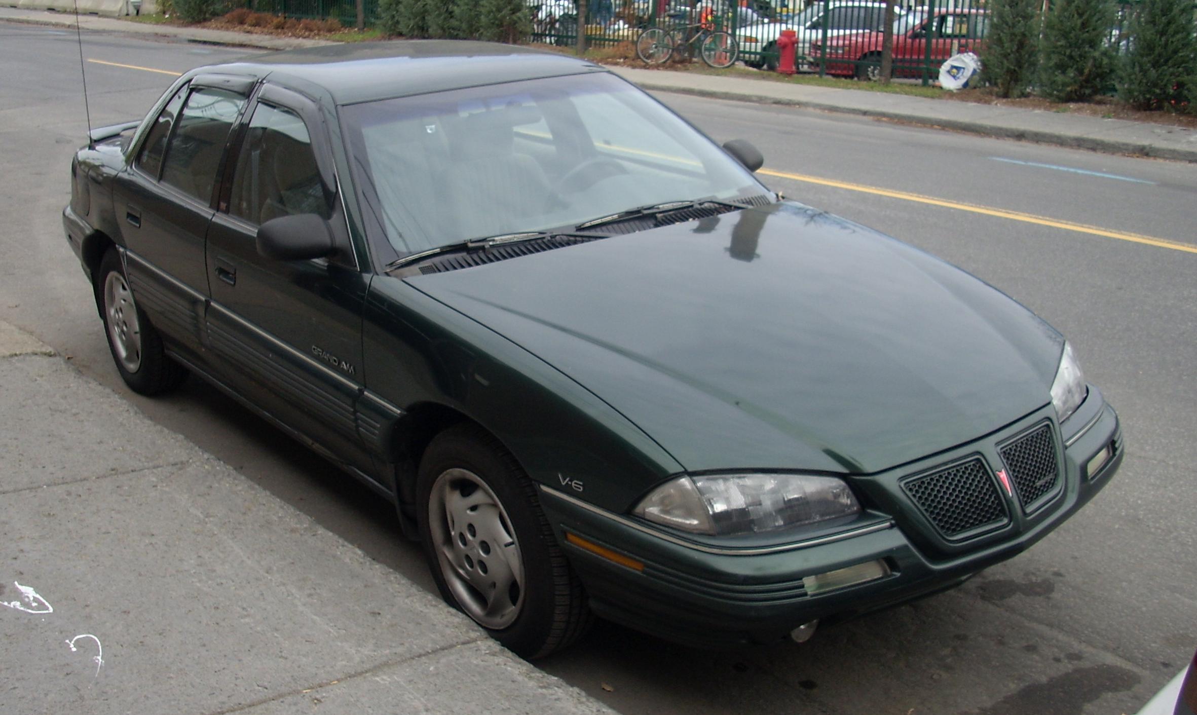 1993 Pontiac Grand Am Se Coupe Photo 4