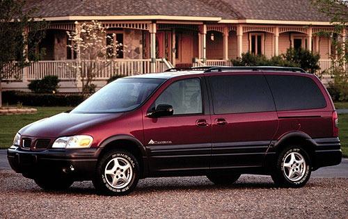 2000 Pontiac Montana 4 Door Special Value Exterior