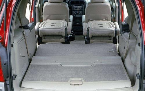 2001 Pontiac Montana Special Value Interior