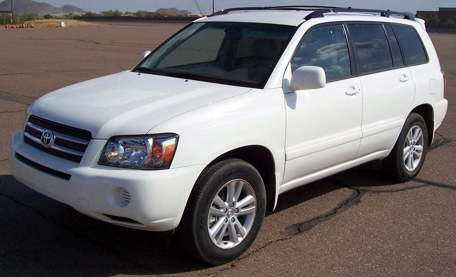 2006 Toyota Highlander Hybrid 2wd Photo 1