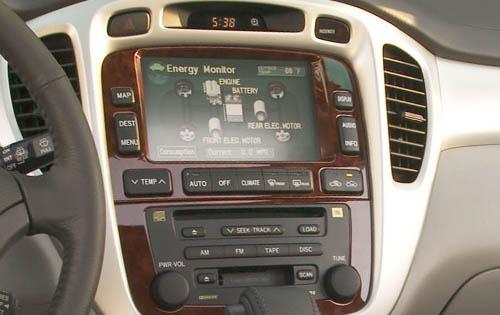 2006 Toyota Highlander Hybrid 2wd Interior