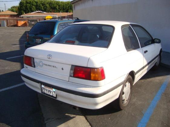 1992 Toyota Tercel 2-Door sedan